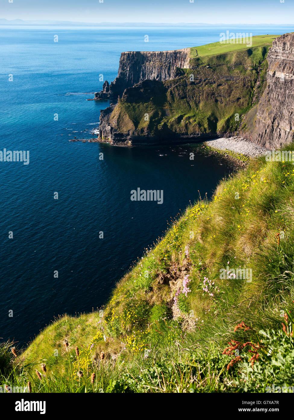 Atlantic Ocean Cliffs of Moher Co. Clare Ireland west coast of Ireland  Wild Atlantic Way - Stock Image