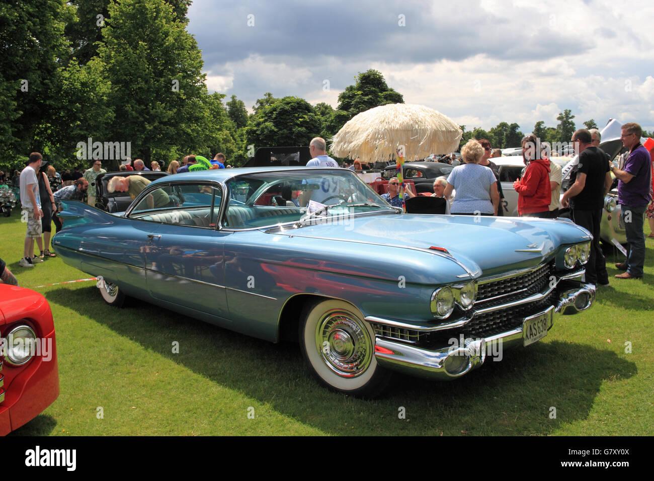 Cadillac Car Shows >> 1959 Cadillac Coupe De Ville Hanworth Classic Car Show