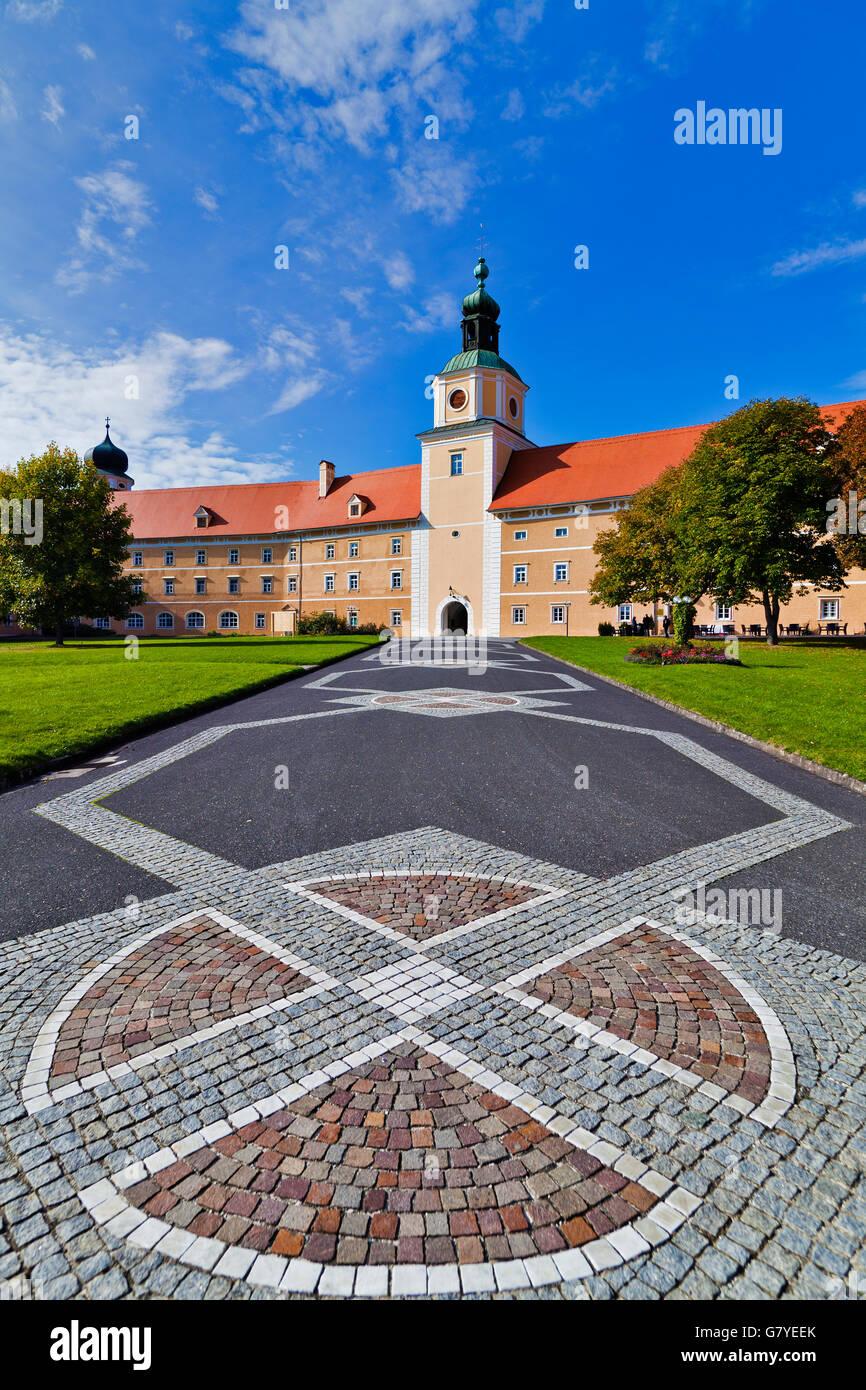 Monastery, Canons Regular of St. Augustine's Order, Vorau, Styria, Austria, Europe - Stock Image