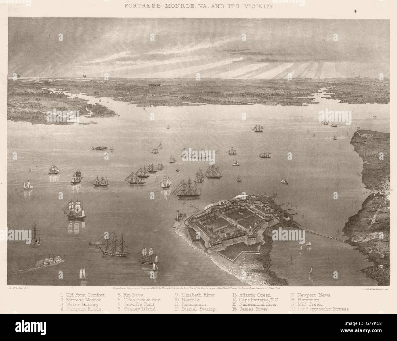 American civil war aerial photography — img 1