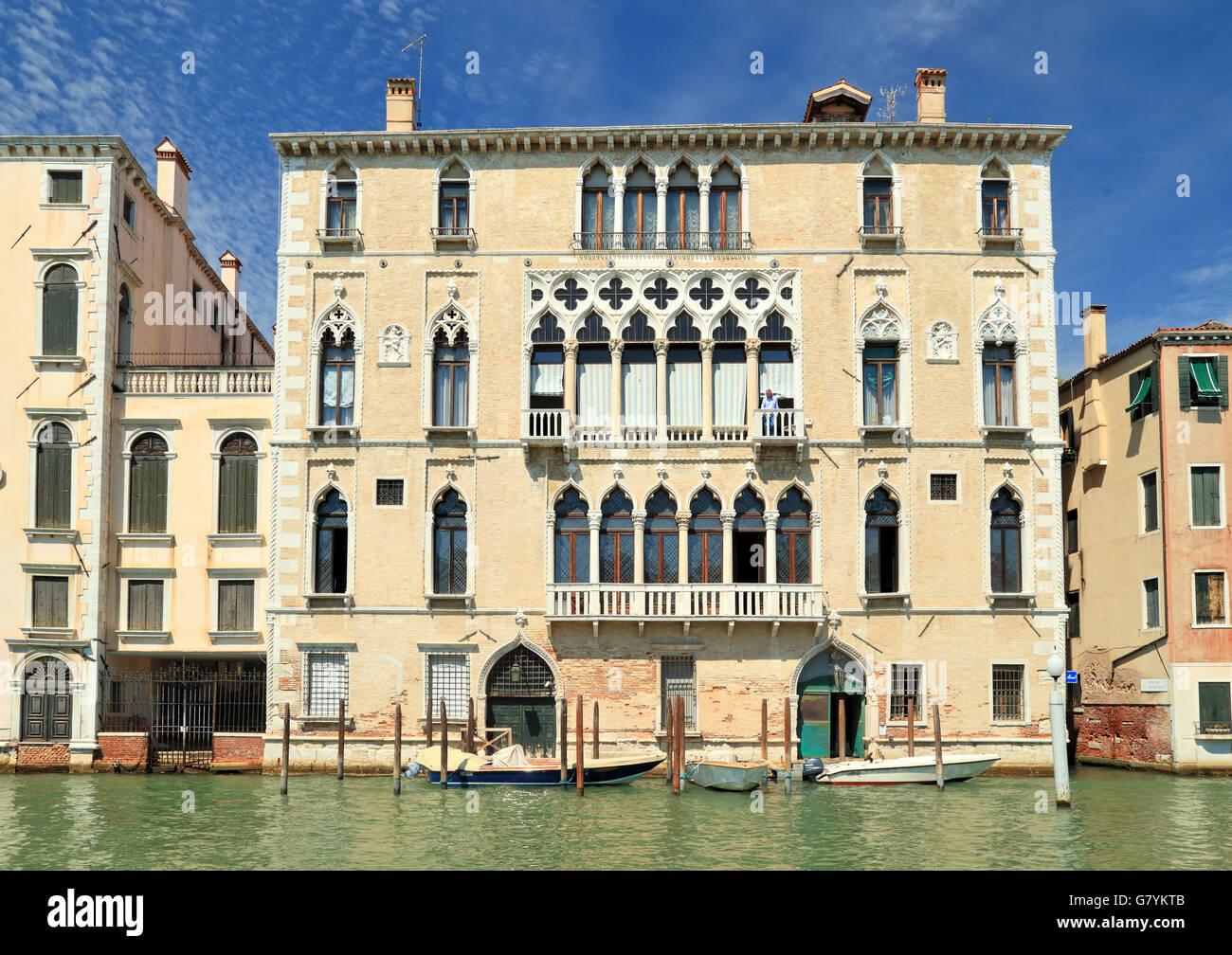 Palazzo Bernardo a San Polo - Stock Image