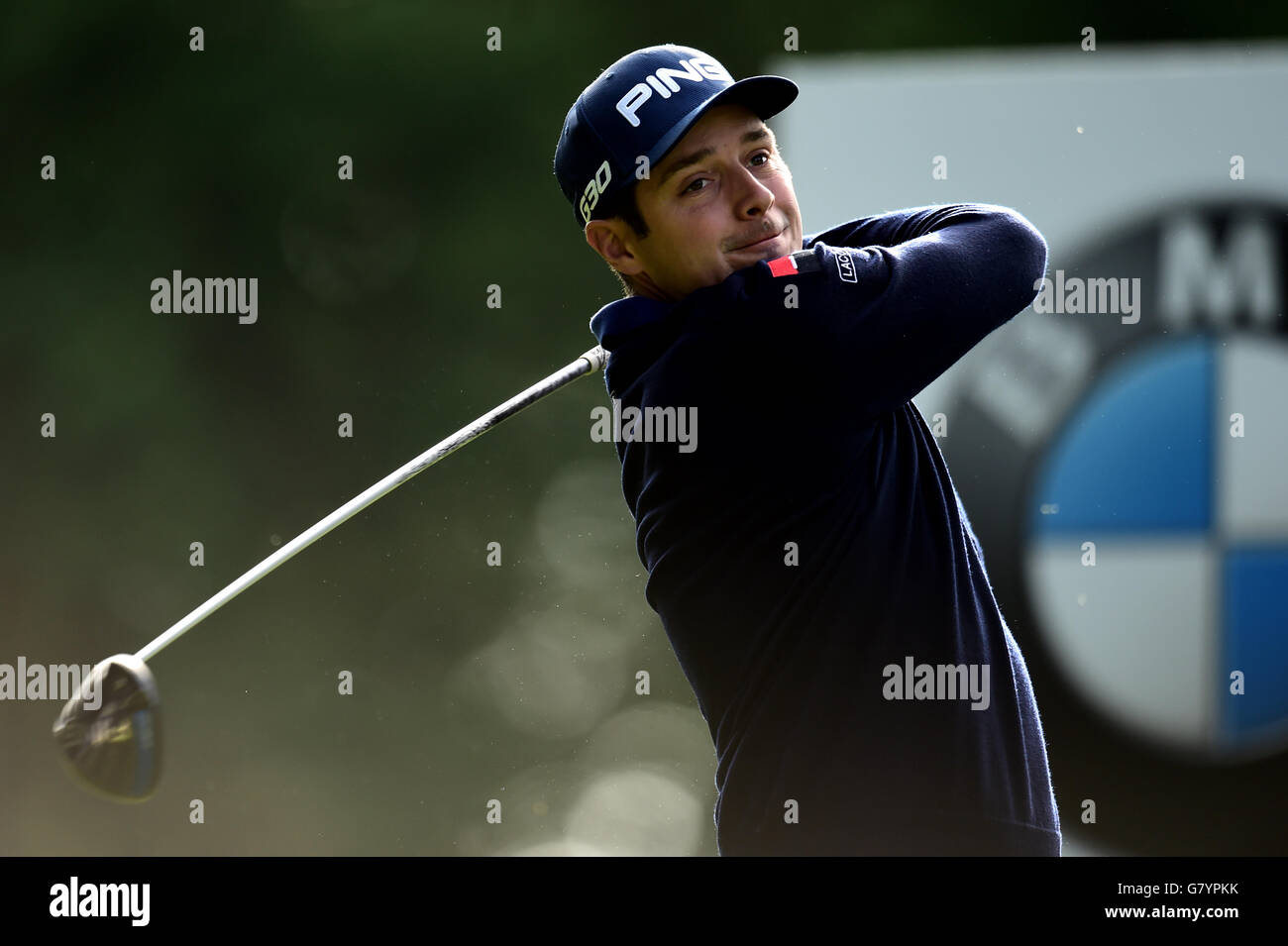 Golf - 2015 BMW PGA Championship - Day Two - Wentworth Golf Club - Stock Image