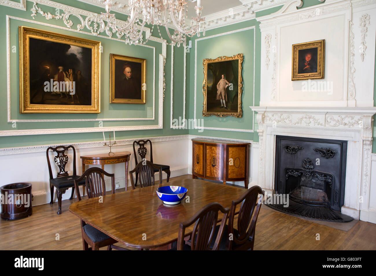 UK Cumbria Kendal Abbot Hall Art Gallery Interior Room