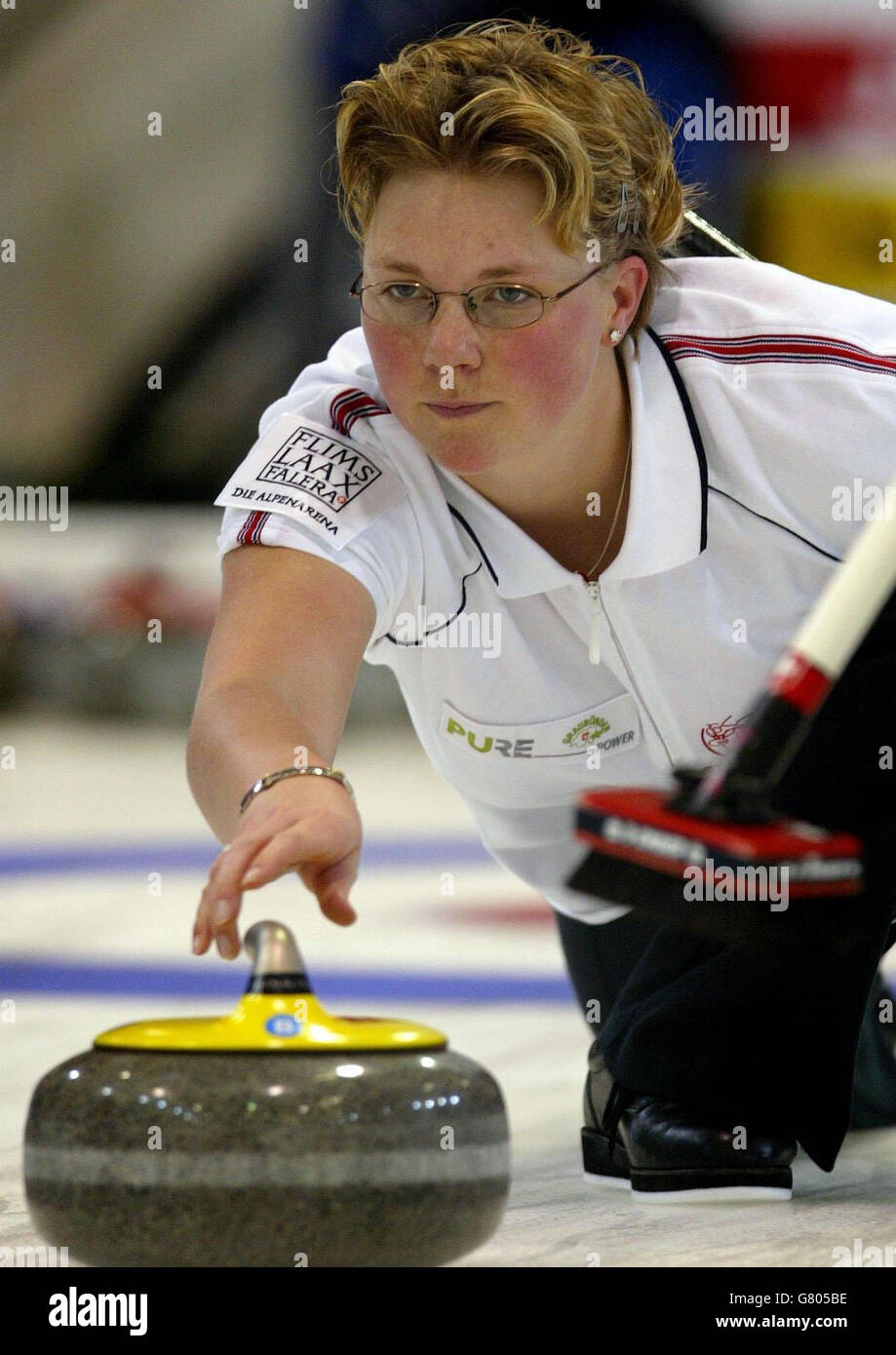 World Womens Curling Championships - Lagoon Lesiure centre - Stock Image