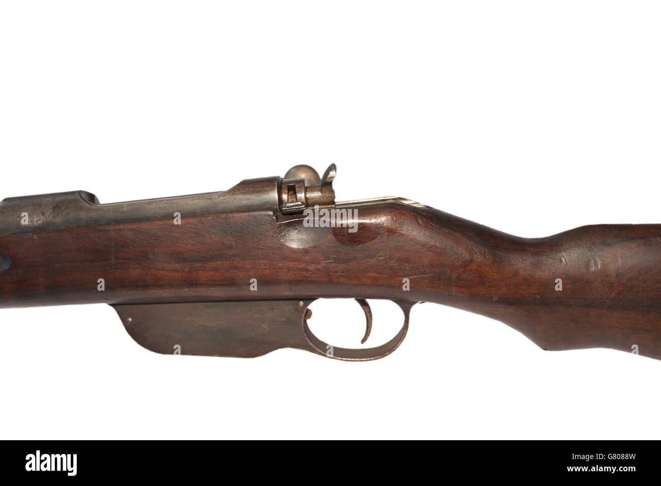 Rifle Steyr Mannlicher M1895 Stock Photo: 108185977 - Alamy
