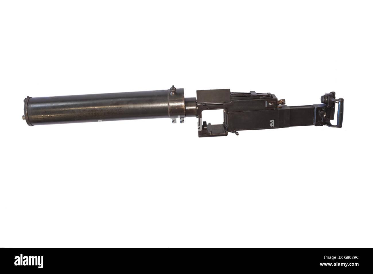 Machine gun Fiat-Revelli Modello 1914 - Stock Image
