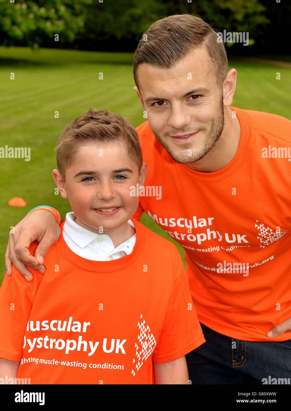 Jack Wilshere Muscular Dystrophy - Stock Image
