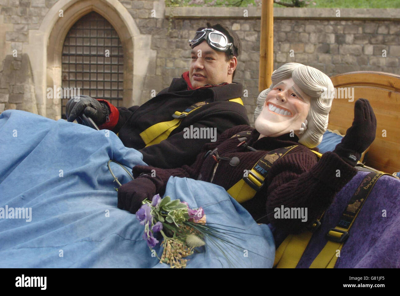 Royal Wedding - Prince Charles and Camilla Parker Bowles - Windsor Castle - Stock Image