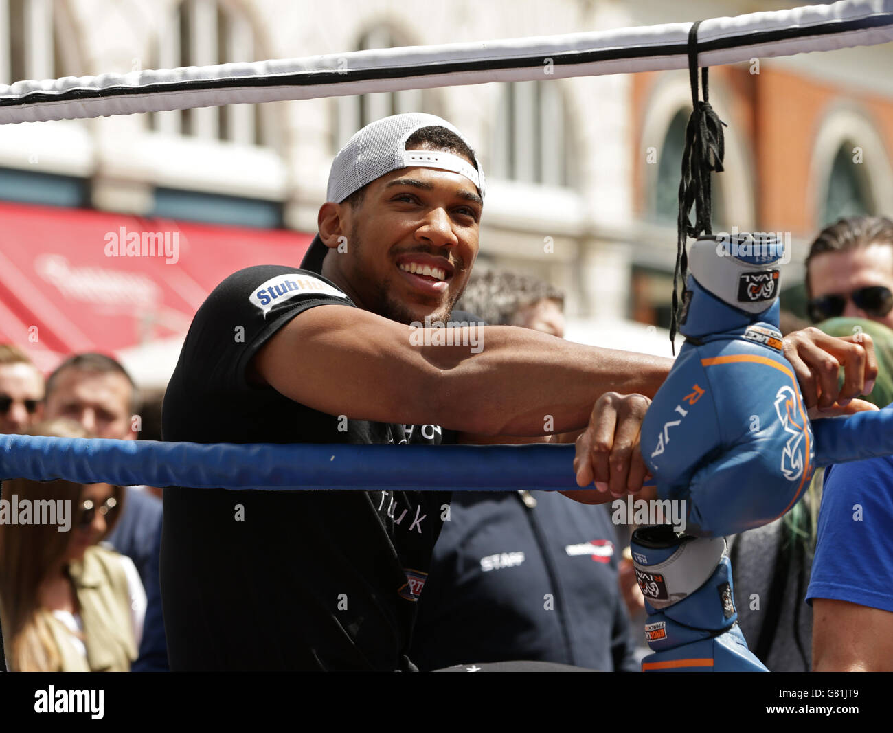 c6b7e0f0273 Boxing - Kevin Mitchell and Anthony Joshua Media Work Out - Covent Garden