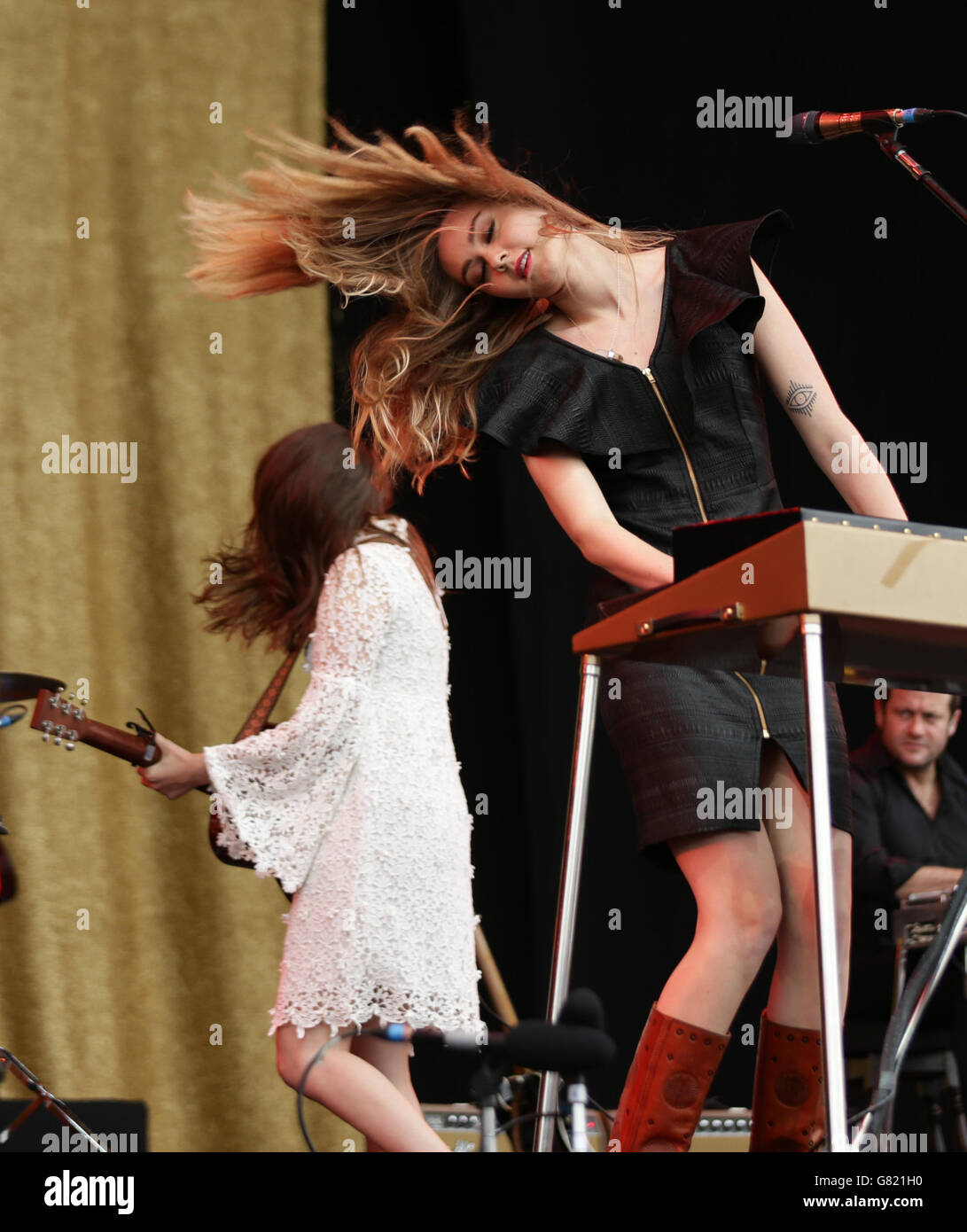 Isle of Wight Festival - Stock Image