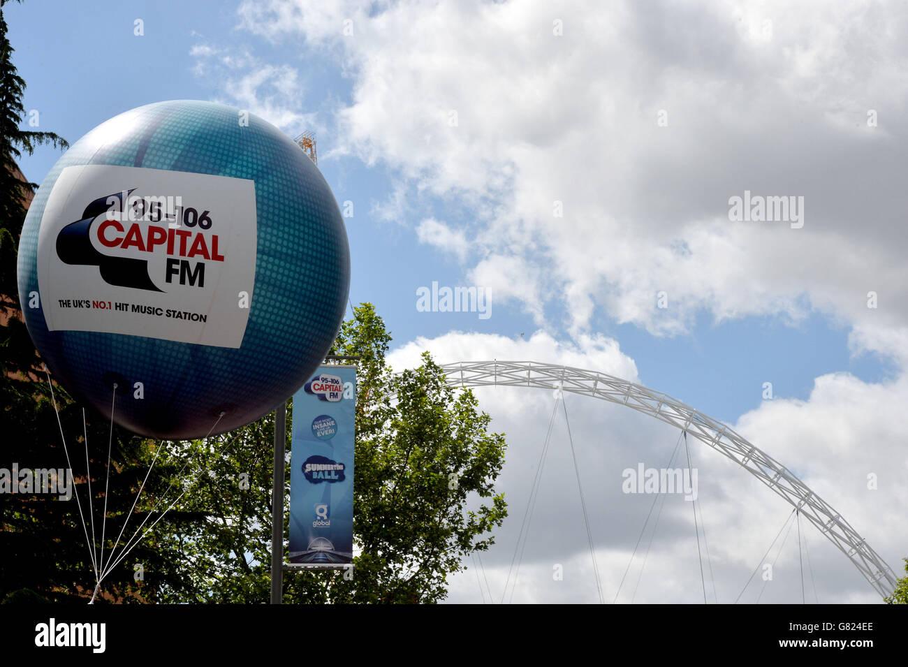 Capital FM Summertime Ball 2015 - London - Stock Image