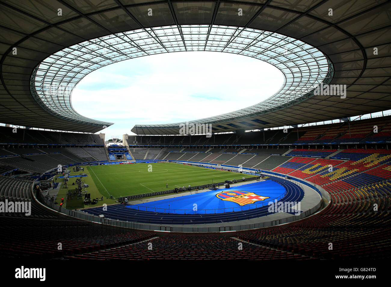 Soccer Uefa Champions League Final Juventus V Barcelona Stock Photo Alamy