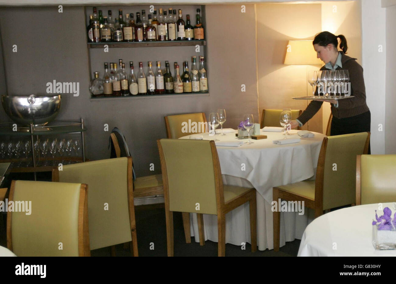 Best Restaurant in the World - The Fat Duck Stock Photo