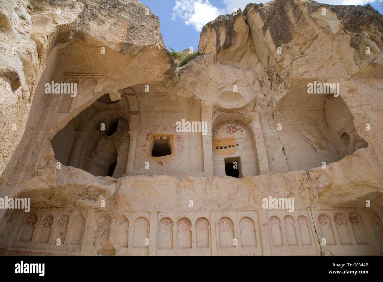 Turkey,Central Anatolia,Nevsehir Province,Cappadocia,Goereme - Stock Image