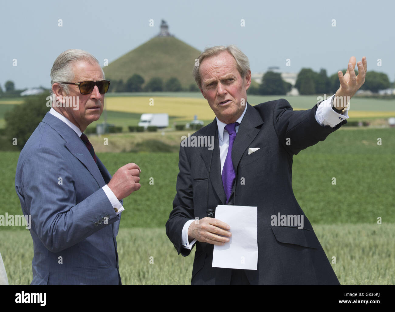 Battle of Waterloo anniversary - Stock Image