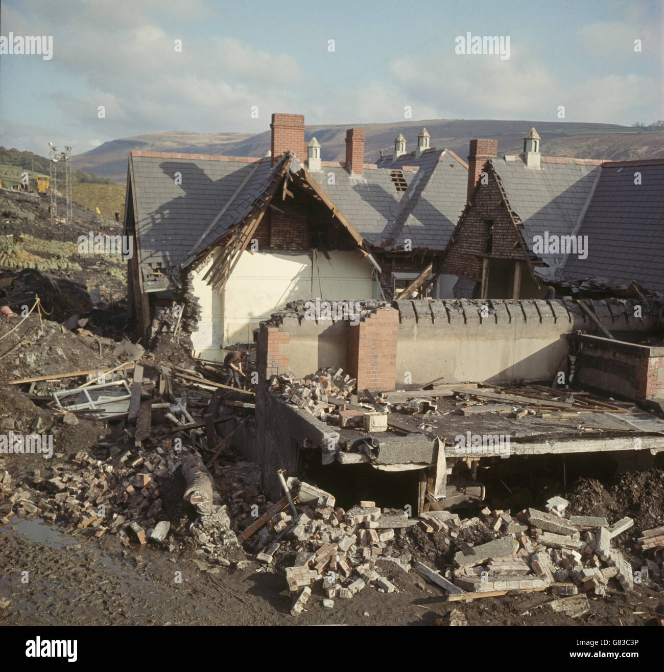 Coal Mining Archive Mining Wales Welsh Stock Photos & Coal Mining