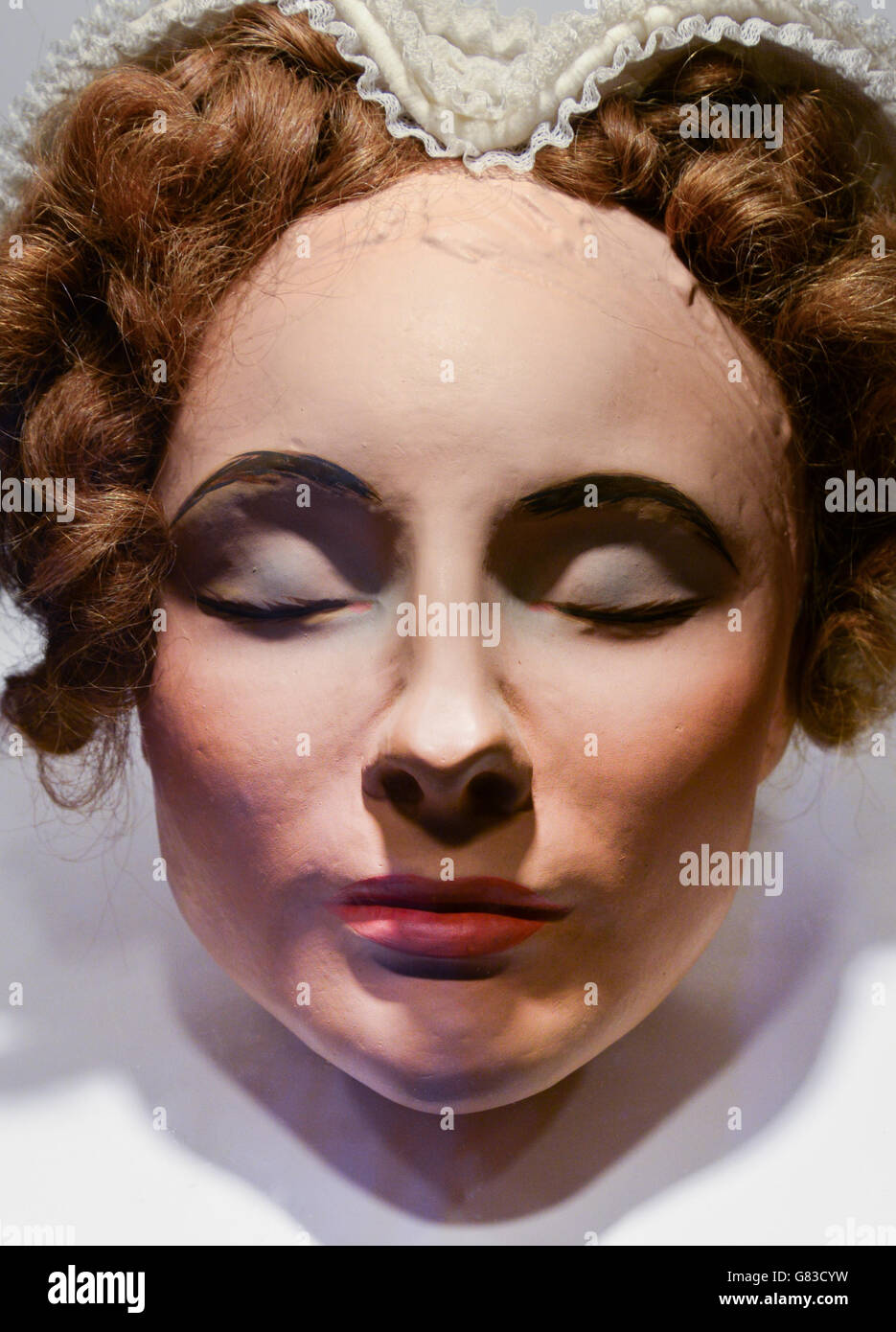 Mary Queen Of Scots Death Mask The death mask of Mary...