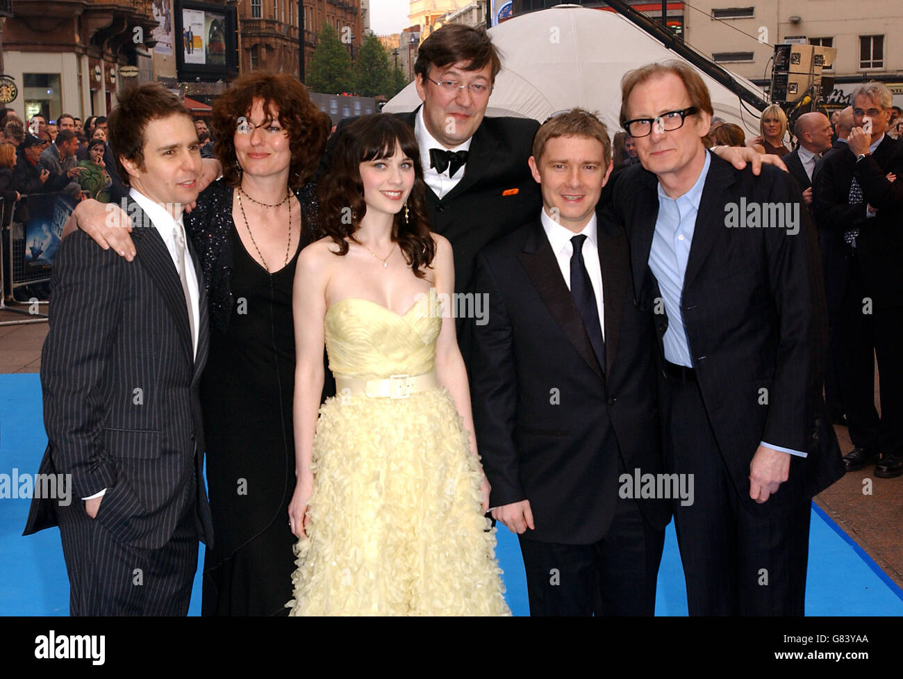 The Hitchhikers Guide to the Galaxy - World Premiere - UCI Empire - Leicester Square Stock Photo