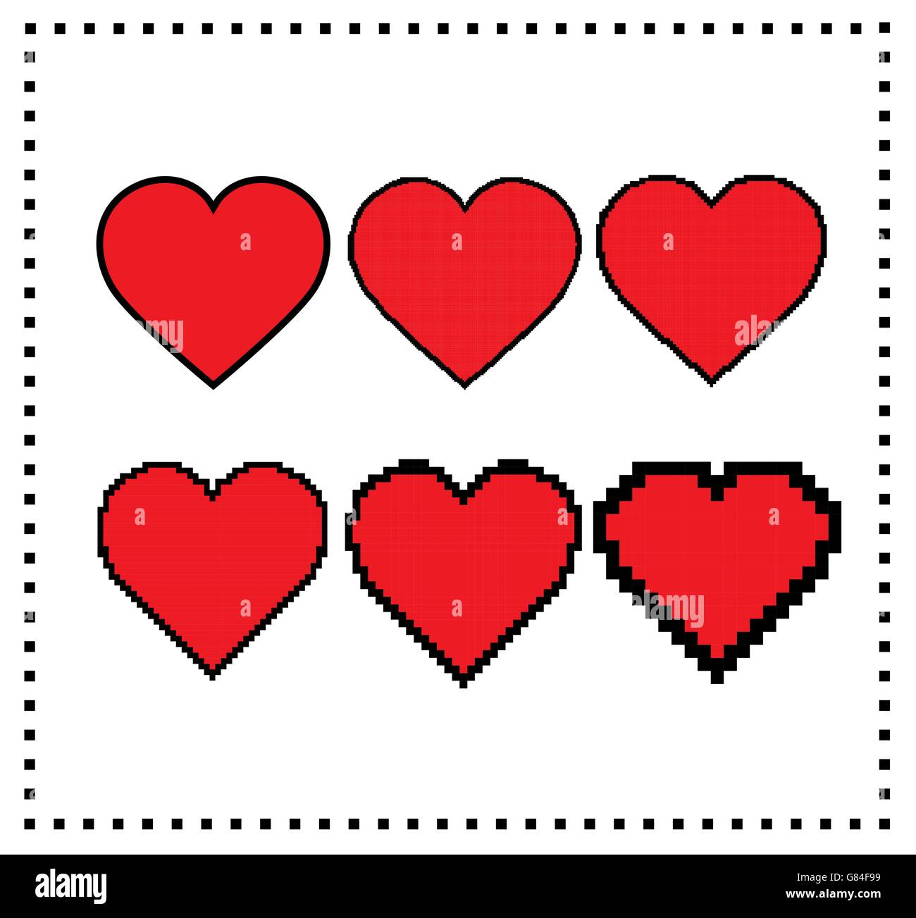 text art small heart