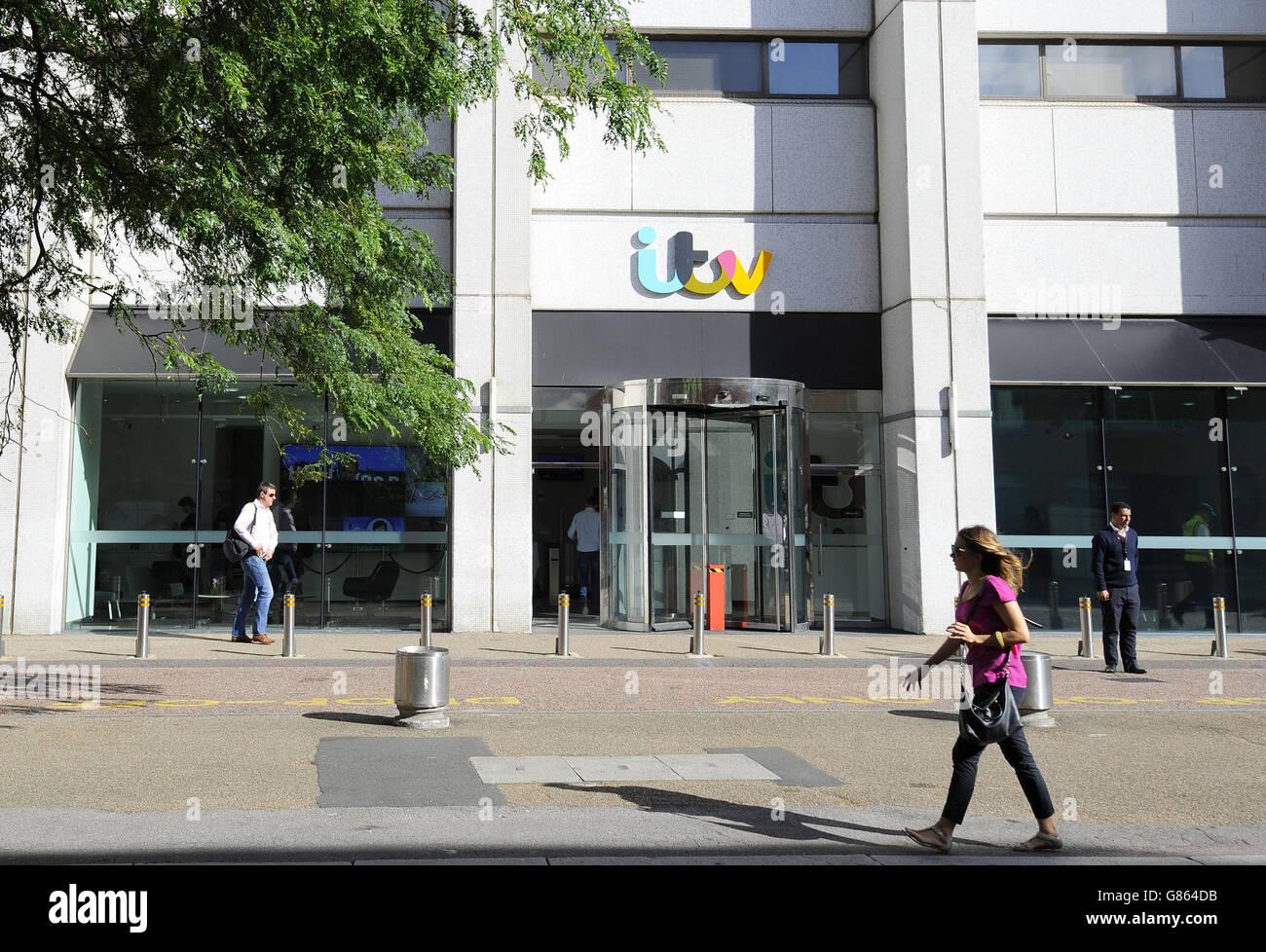 ITV Studios evacuated - Stock Image