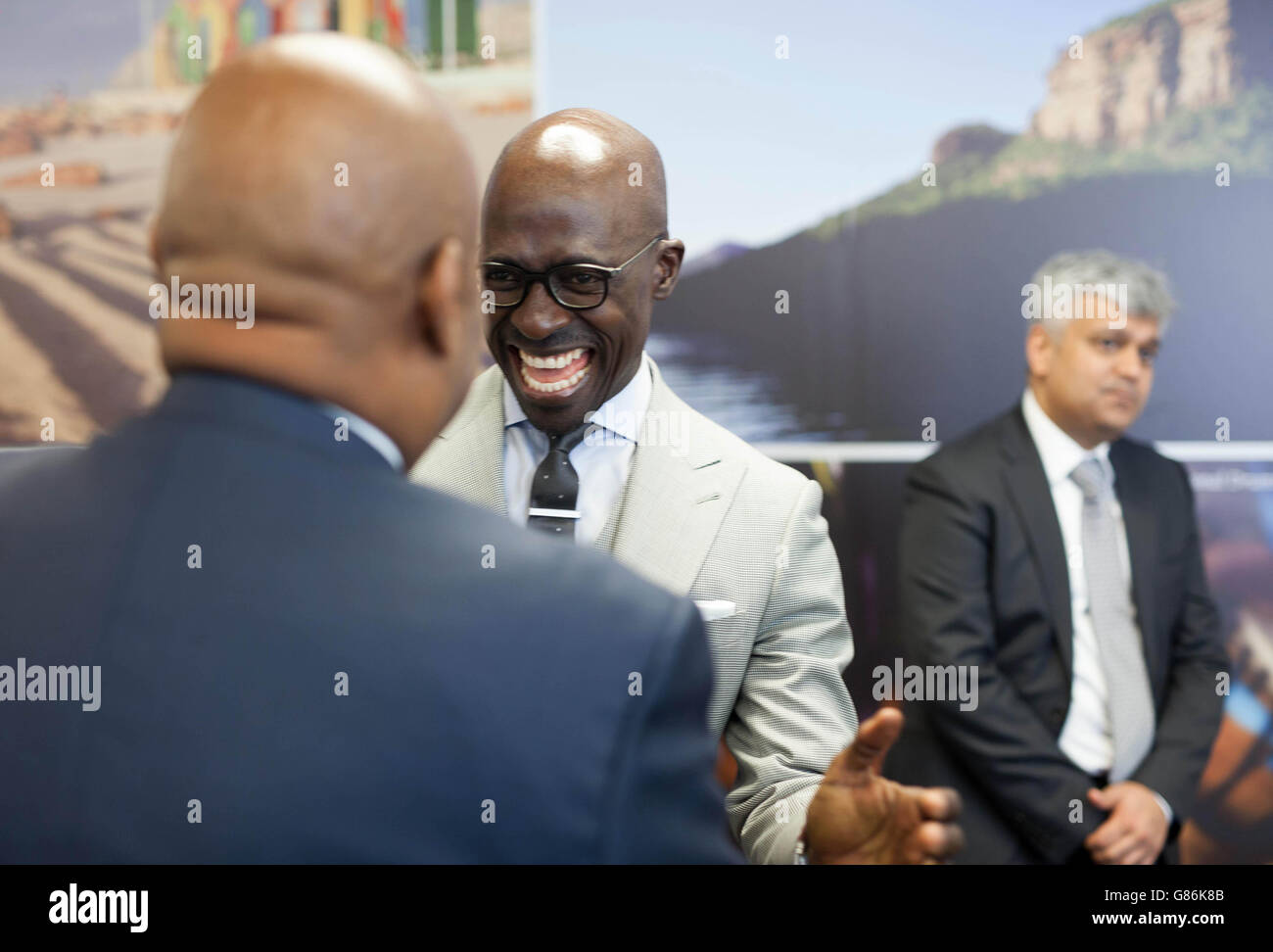 Opening of new South Africa Visa Application Centre - London - Stock Image