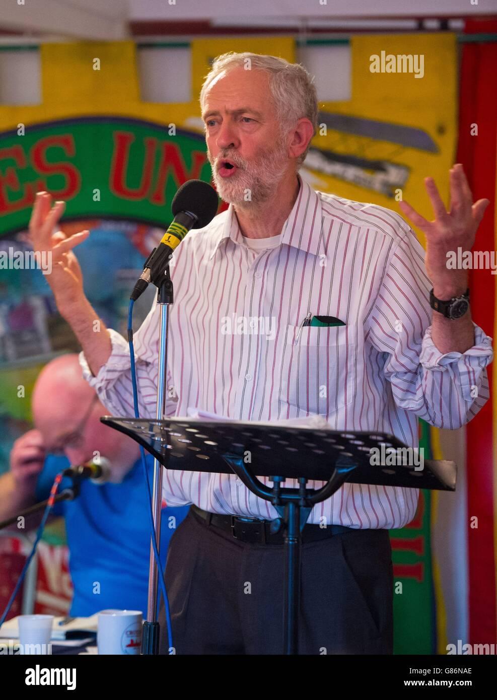 Labour leadership contest - Stock Image