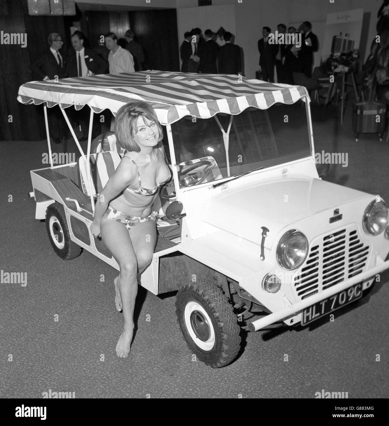 Transport - Beach Buggy - London - Stock Image