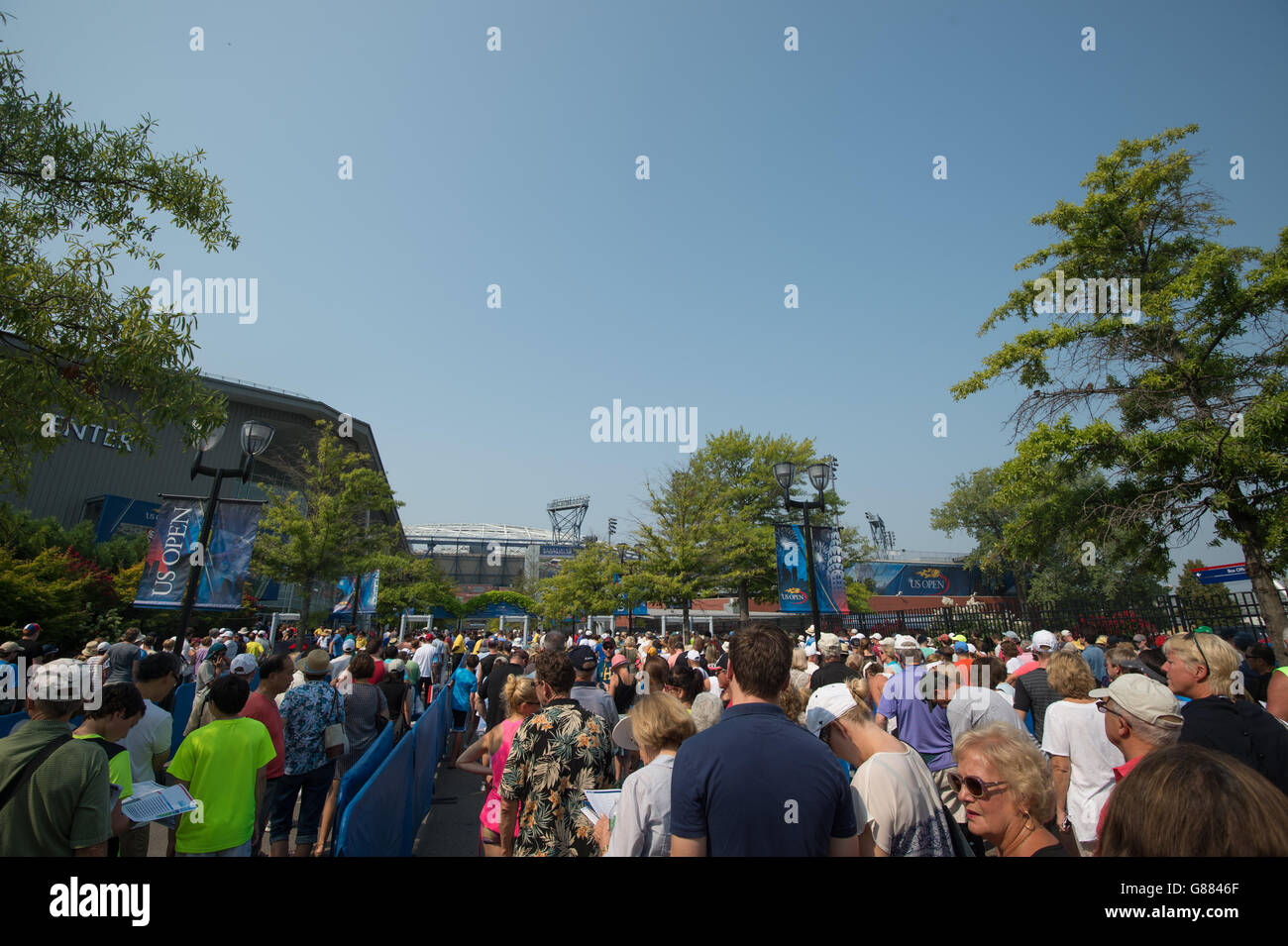 Tennis - 2015 US Open - Day Four - Billie Jean King National Tennis Center - Stock Image