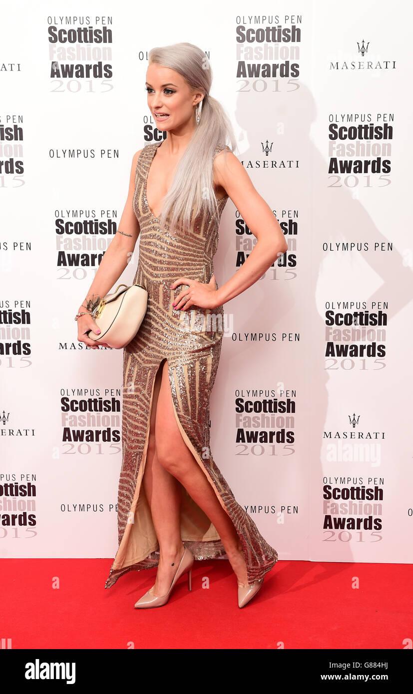 Scottish Fashion Awards - London - Stock Image