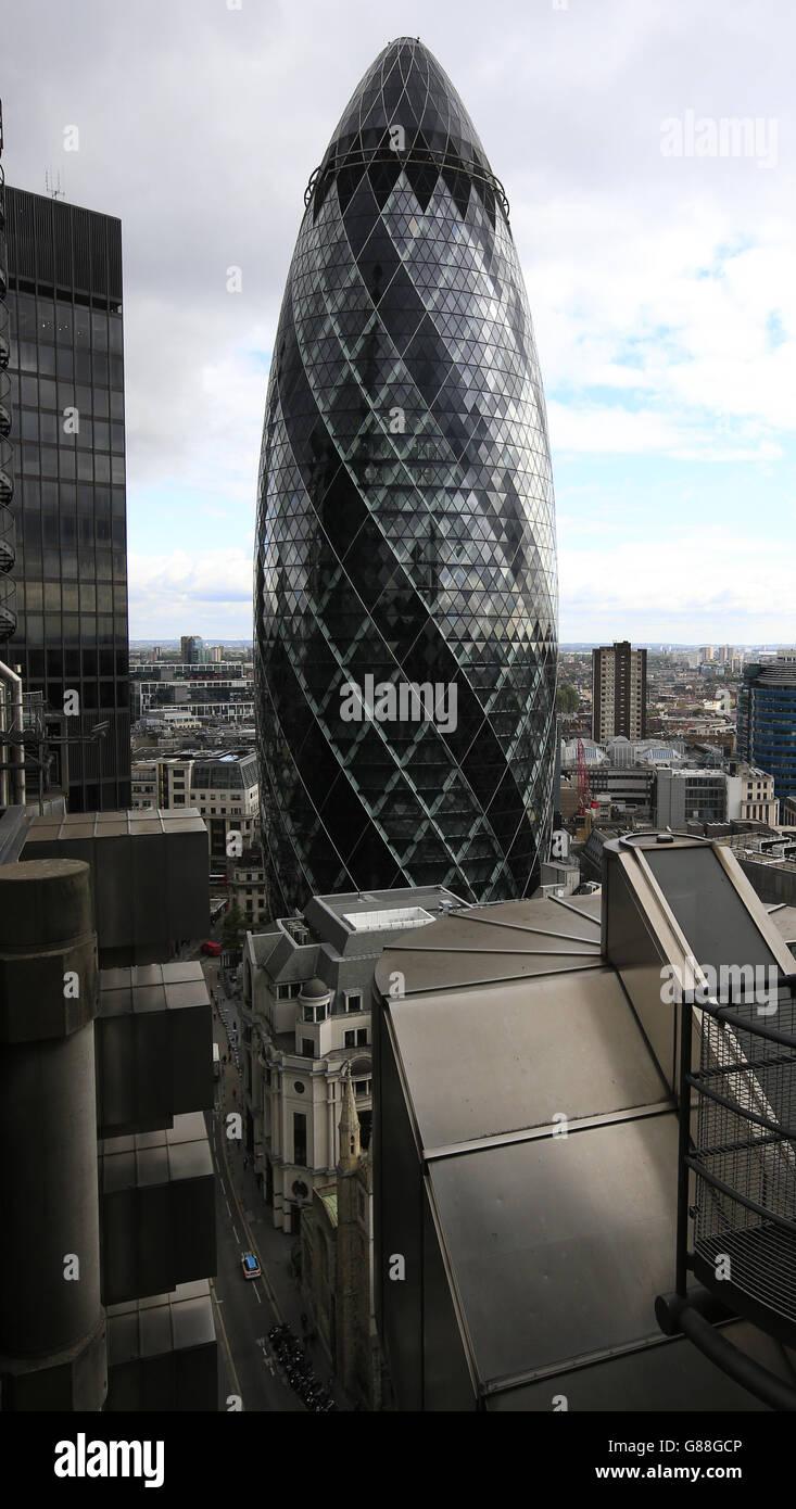London city stock - Stock Image