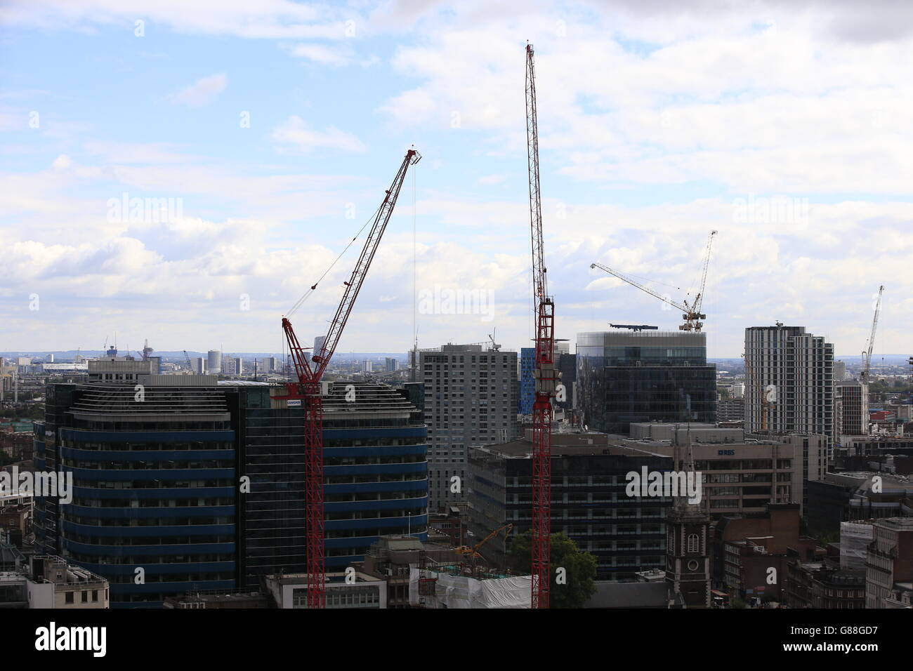 London city stock - Stock Image