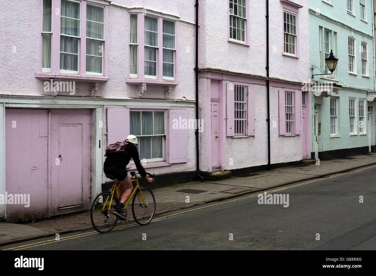 Holywell Street, Oxford, UK - Stock Image