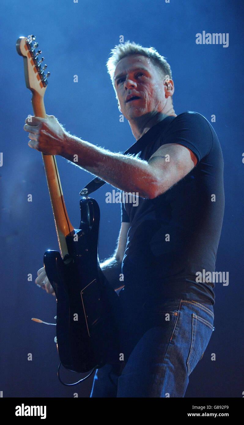 Bryan Adams Performs On Stage Stock Photos & Bryan Adams Performs On ...