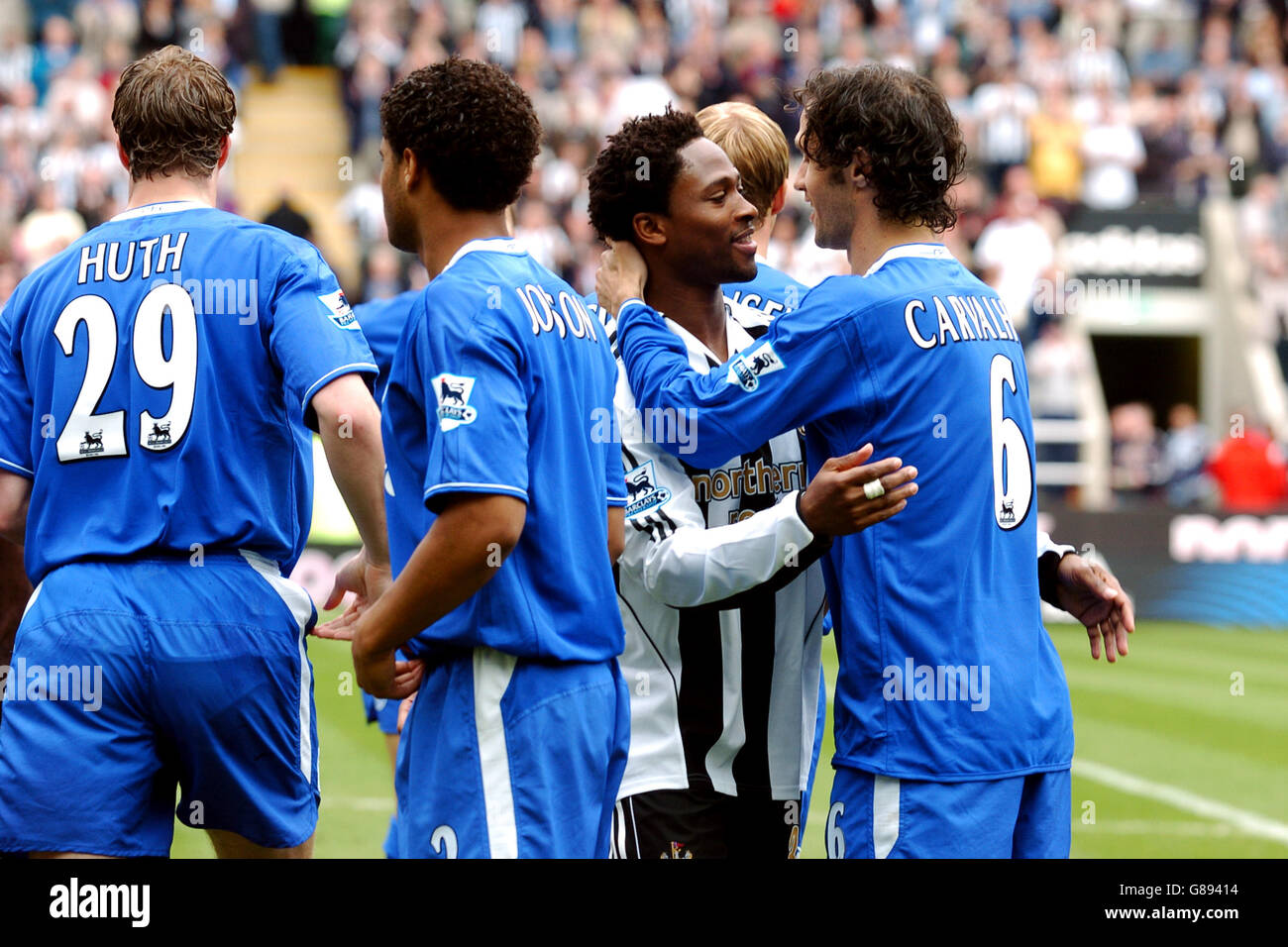 Soccer - FA Barclays Premiership - Newcastle United v Chelsea - St James' Park - Stock Image