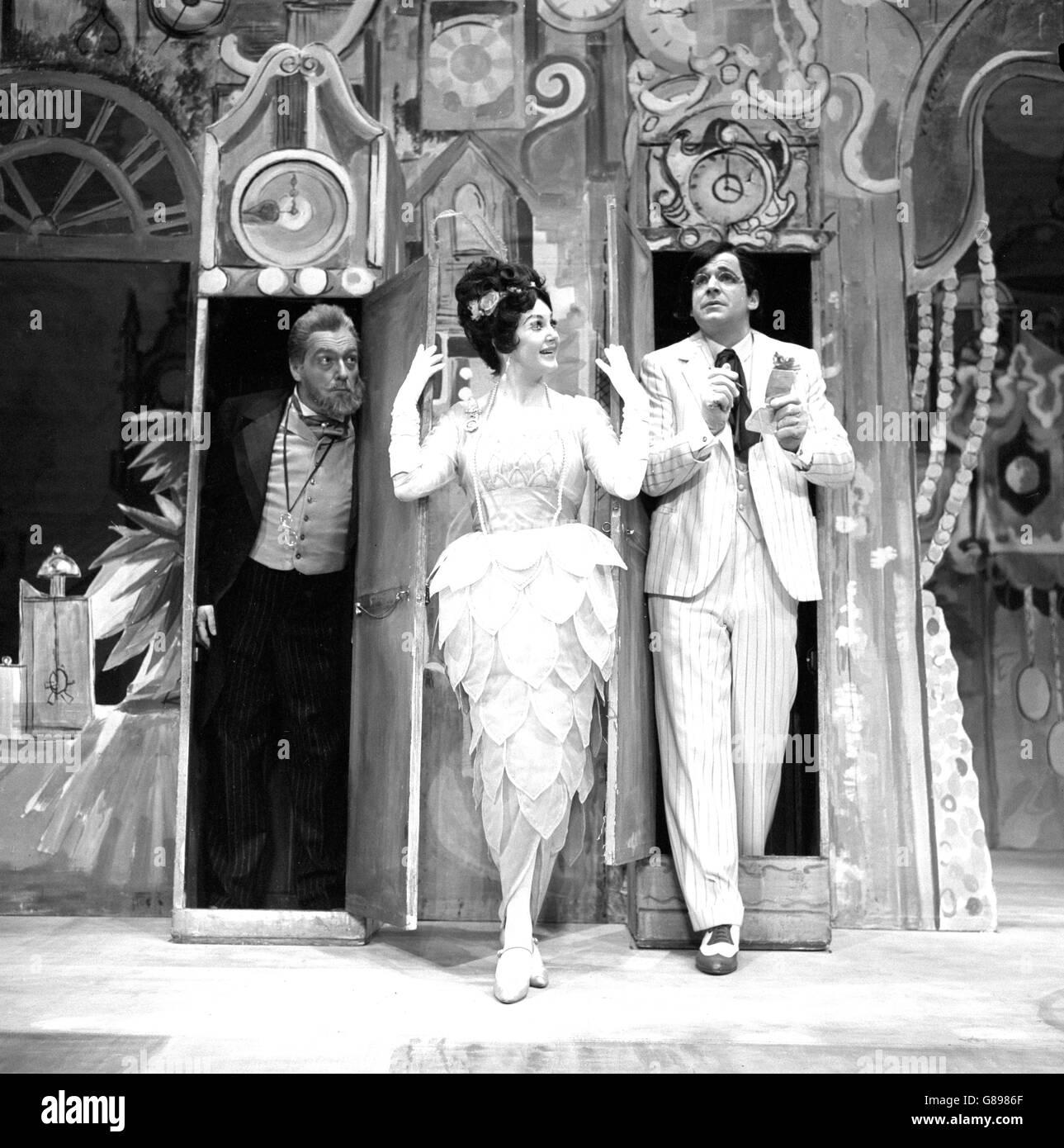 Theatre - L'Heure Espagnole - Sadler's Wells, London - Stock Image