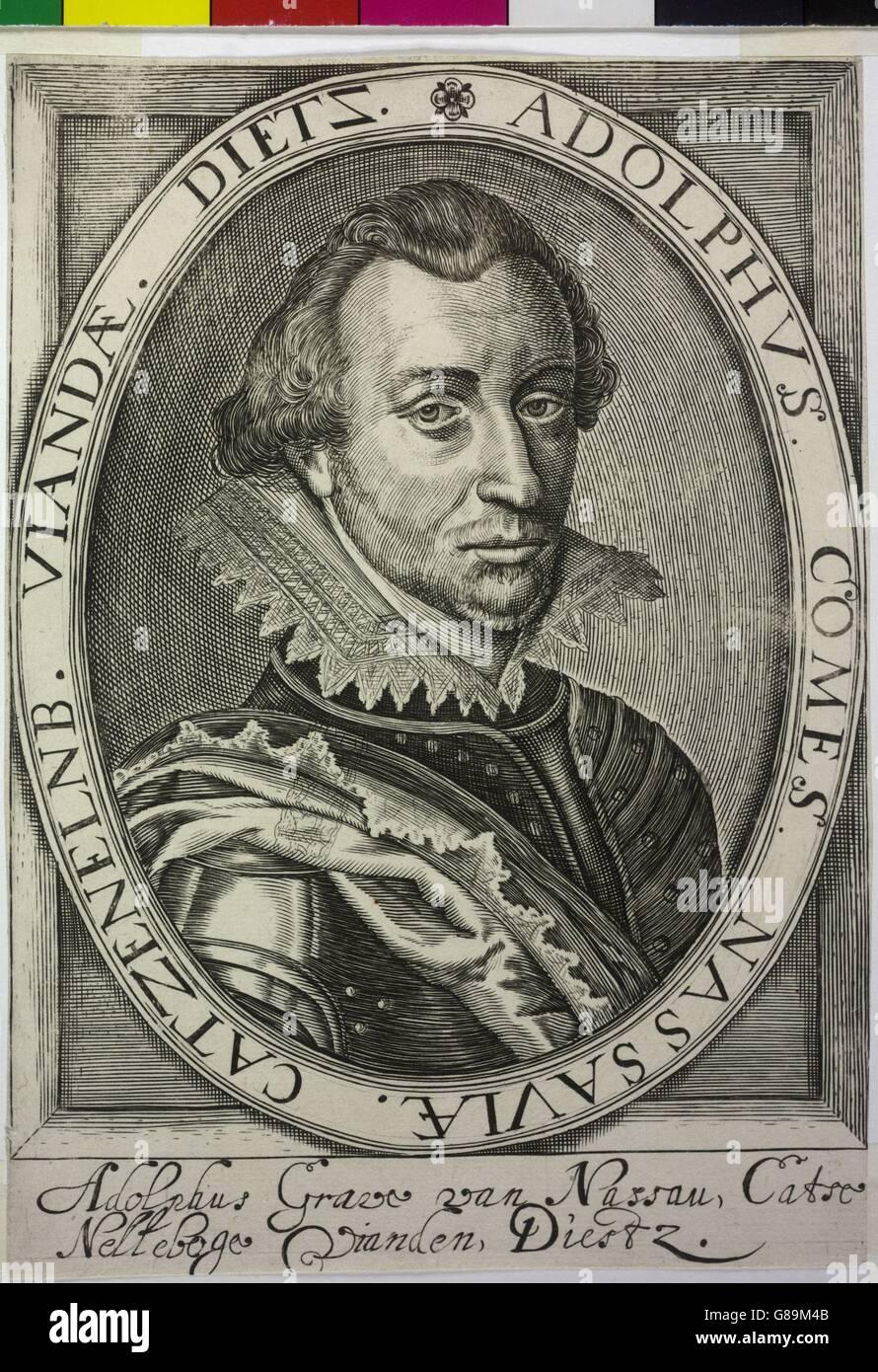 Adolf, Graf von Nassau-Siegen Stock Photo