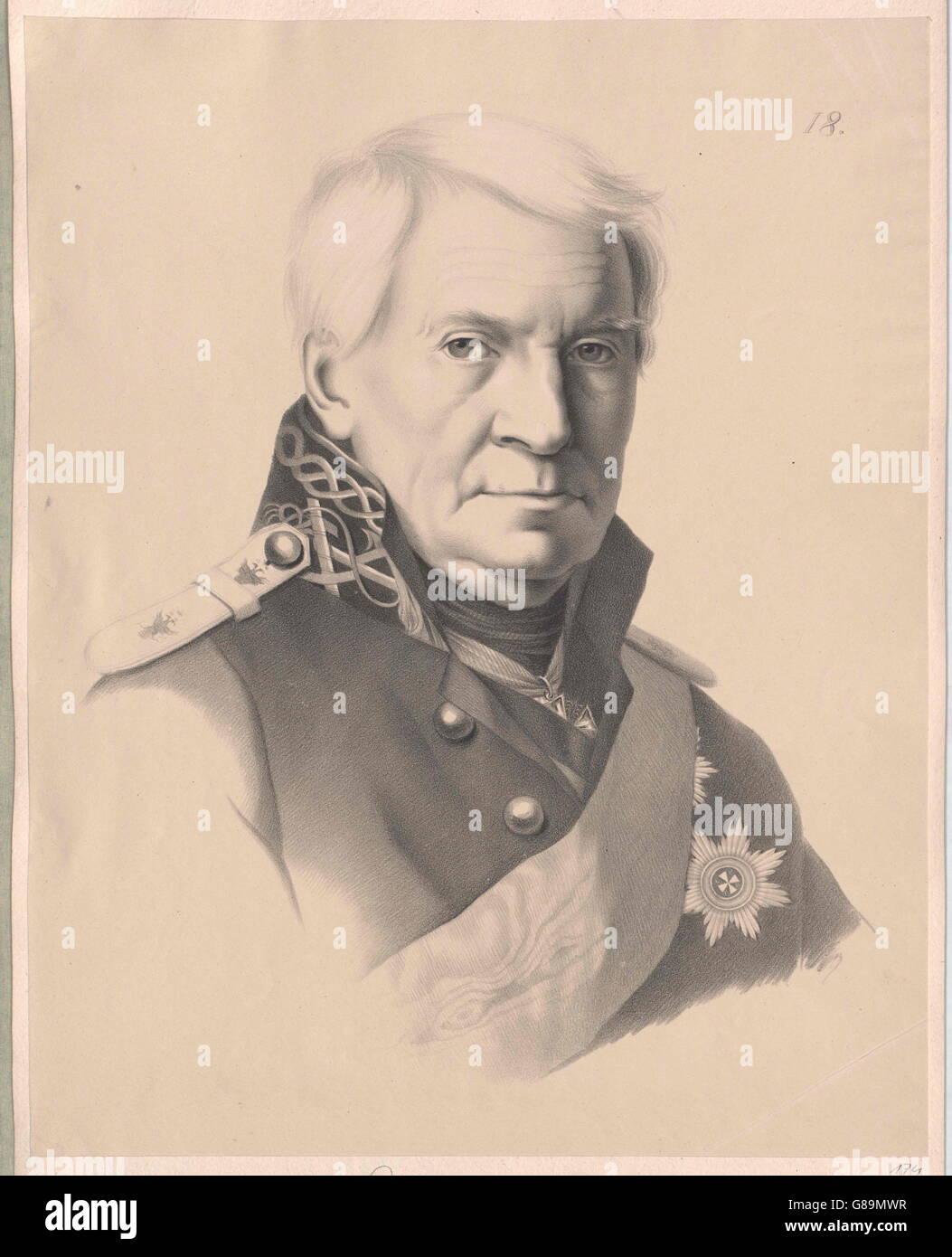 Schischkow, Aleksandr Semenovic - Stock Image
