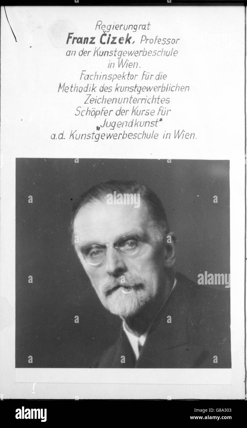 Cizek, Franz - Stock Image
