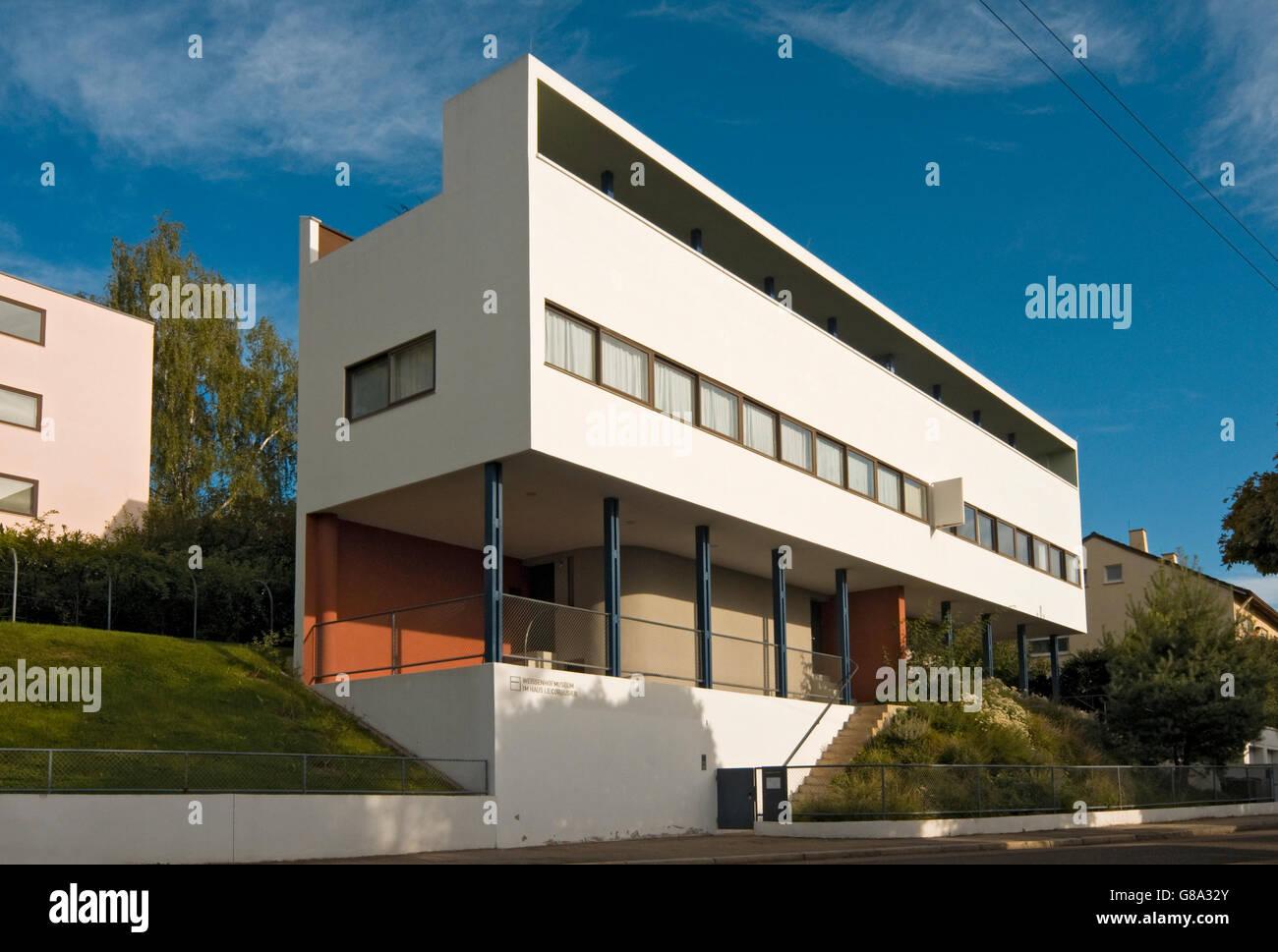 Weissenhof Museum Le Corbusier House By Architects Le