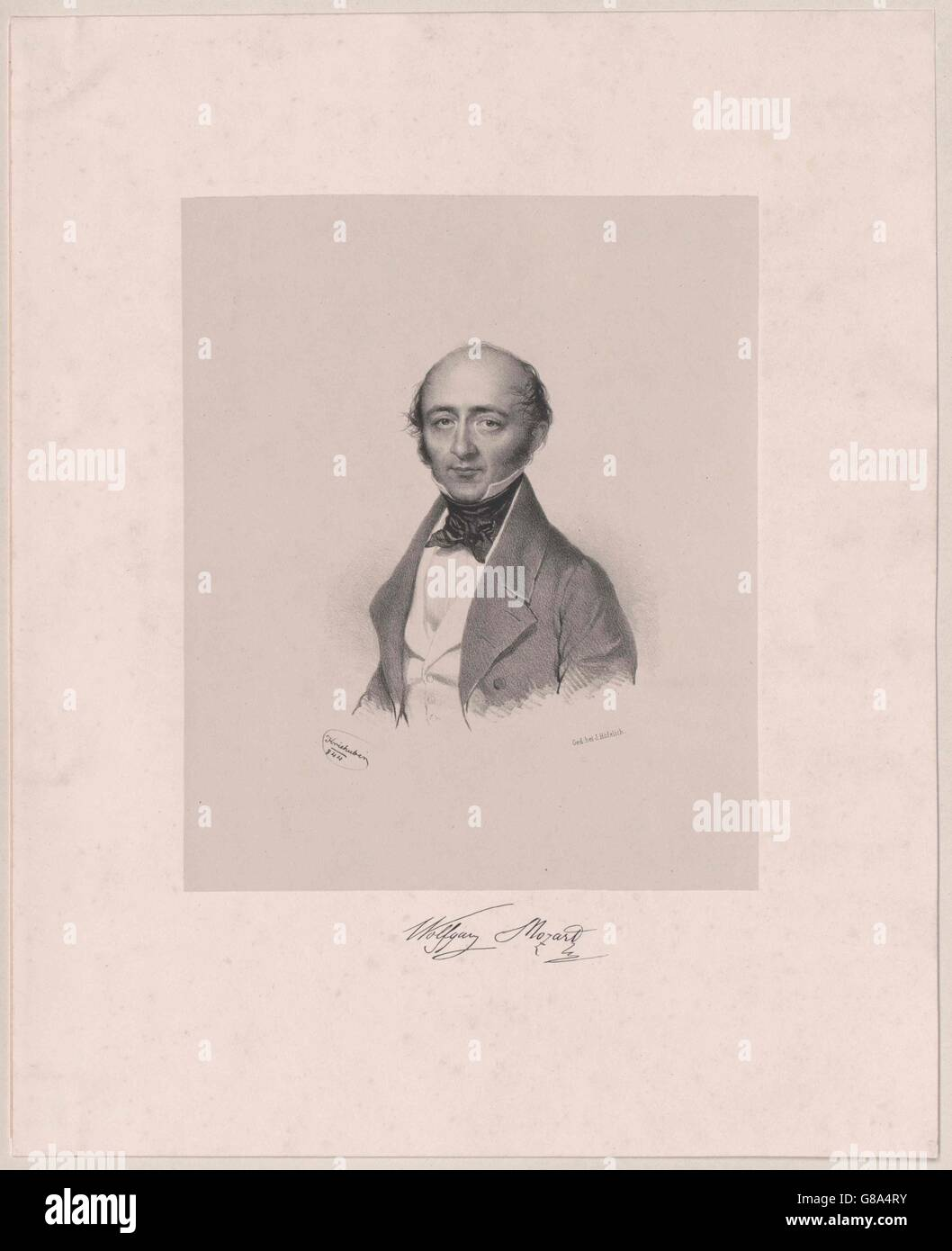 Mozart, Wolfgang Amadeus (1791-1844) - Stock Image