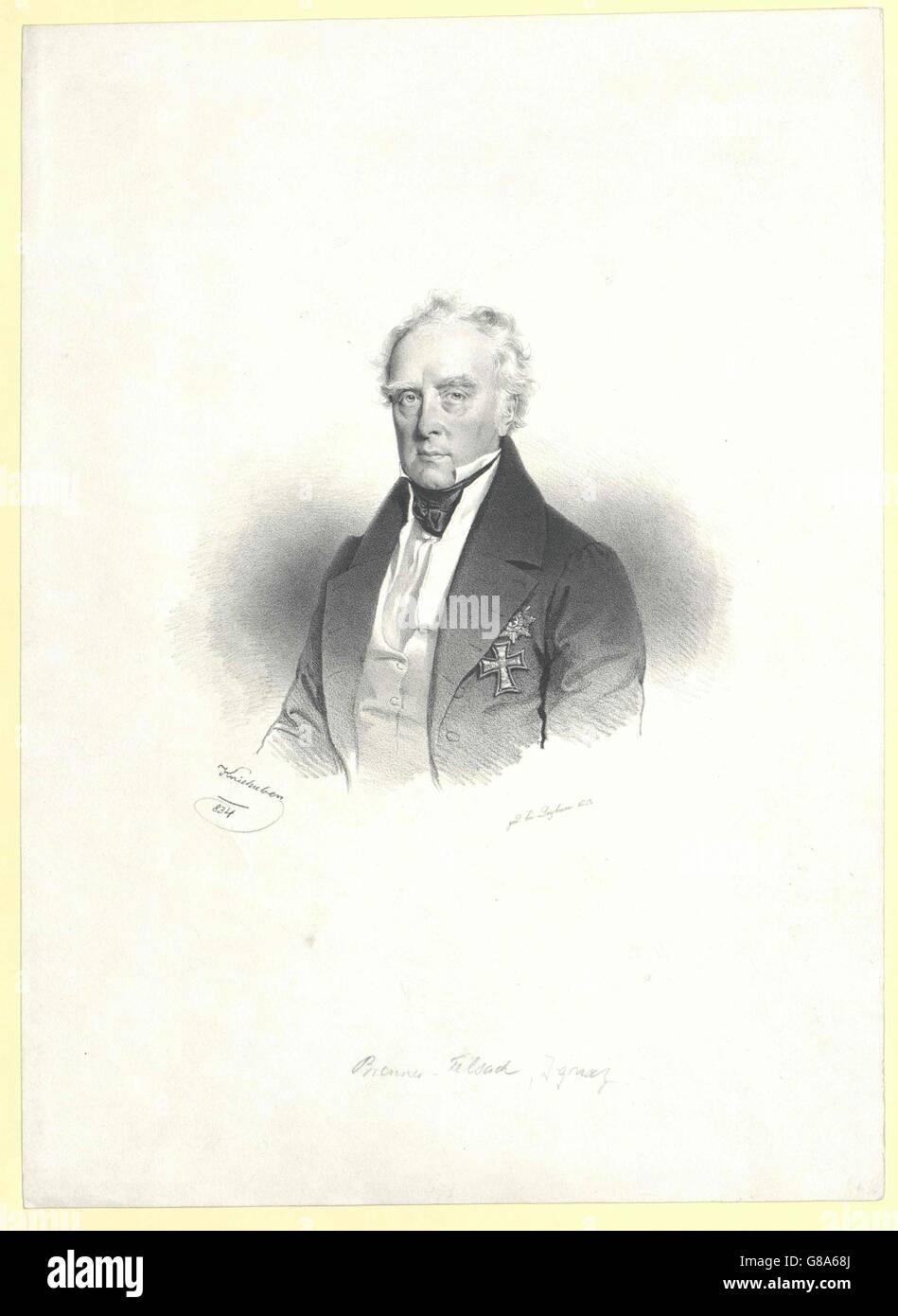 Brenner von Felsach, Ignaz Freiherr - Stock Image