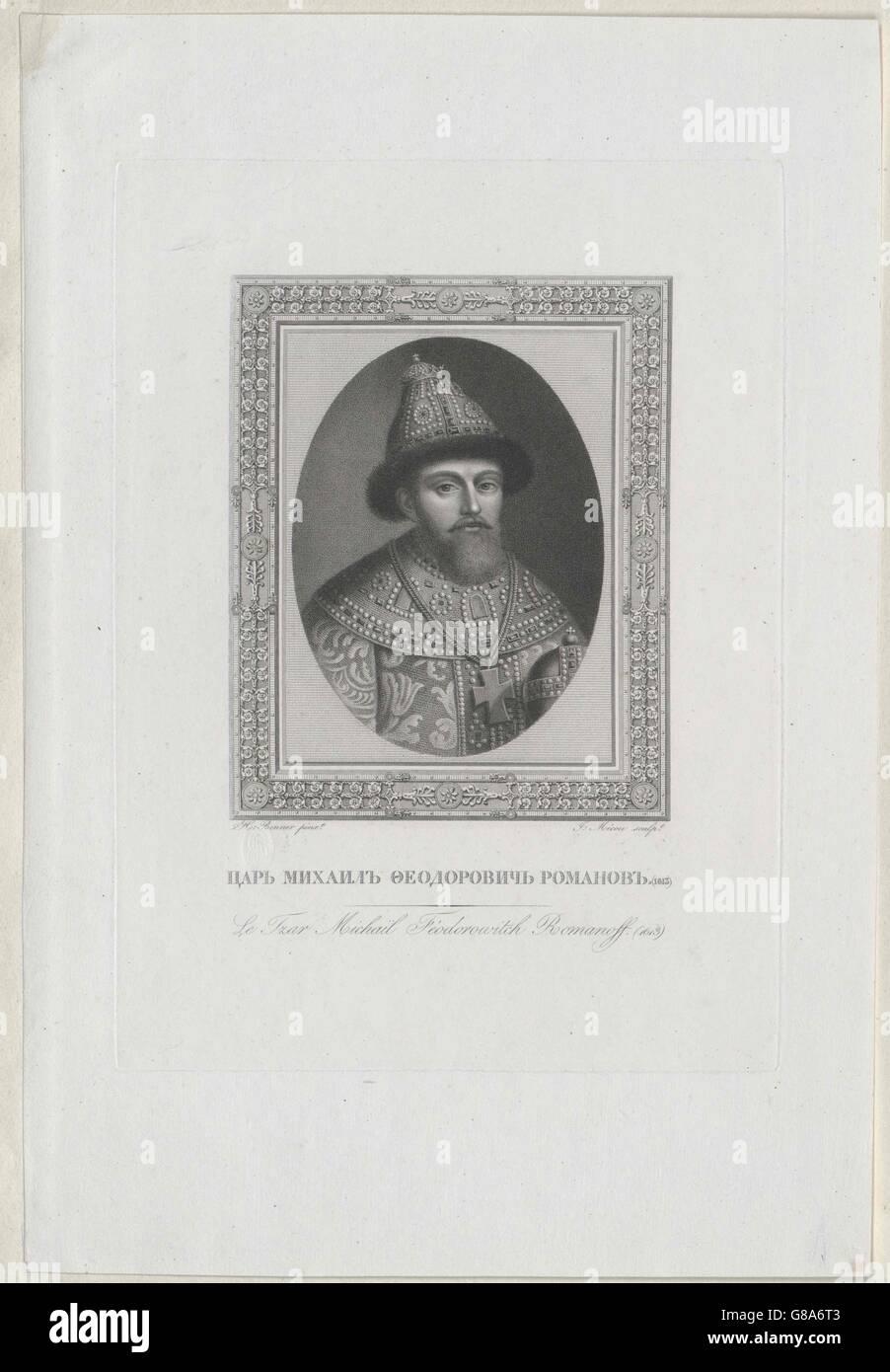 Michael III., Zar von Russland Stock Photo