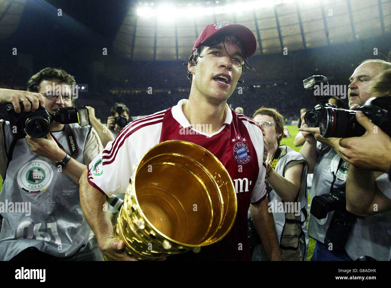 Soccer - DFB-Pokal, Finale - FC Bayern Muenchen  (FCB) - Schalke 04 Stock Photo