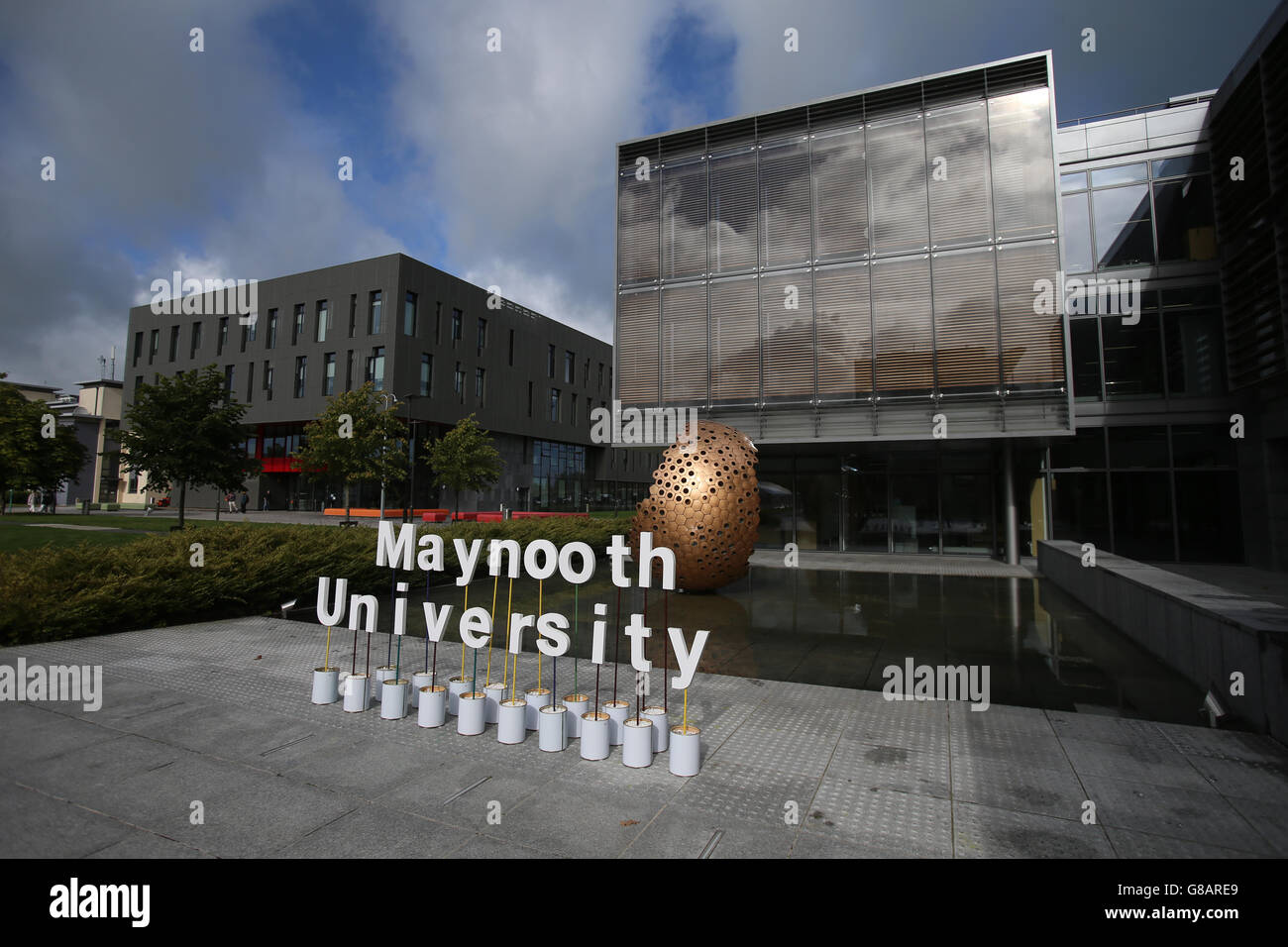 NUI Maynooth University stock - Stock Image