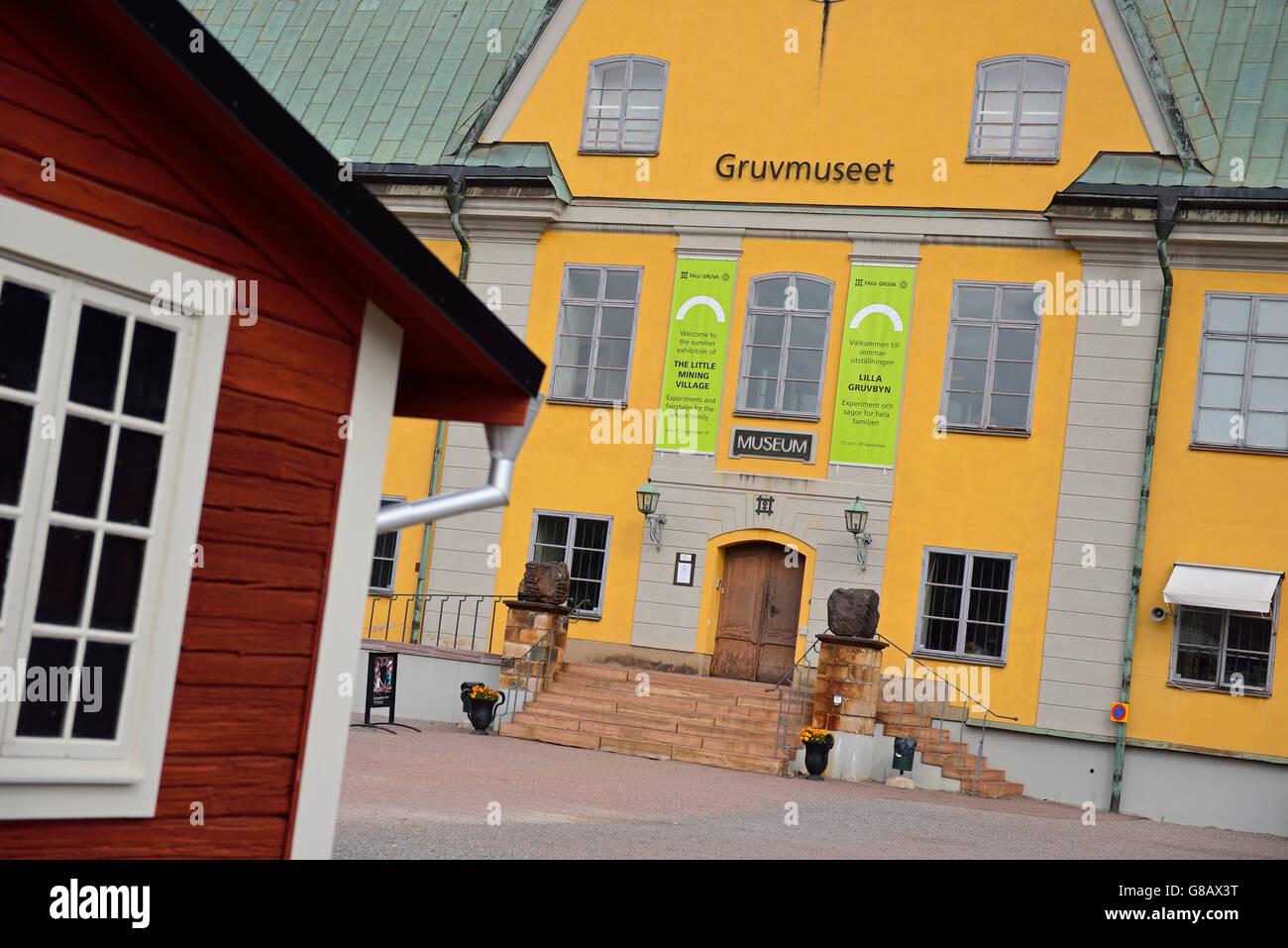 copper mine, Falun, Dalarna, Sweden - Stock Image