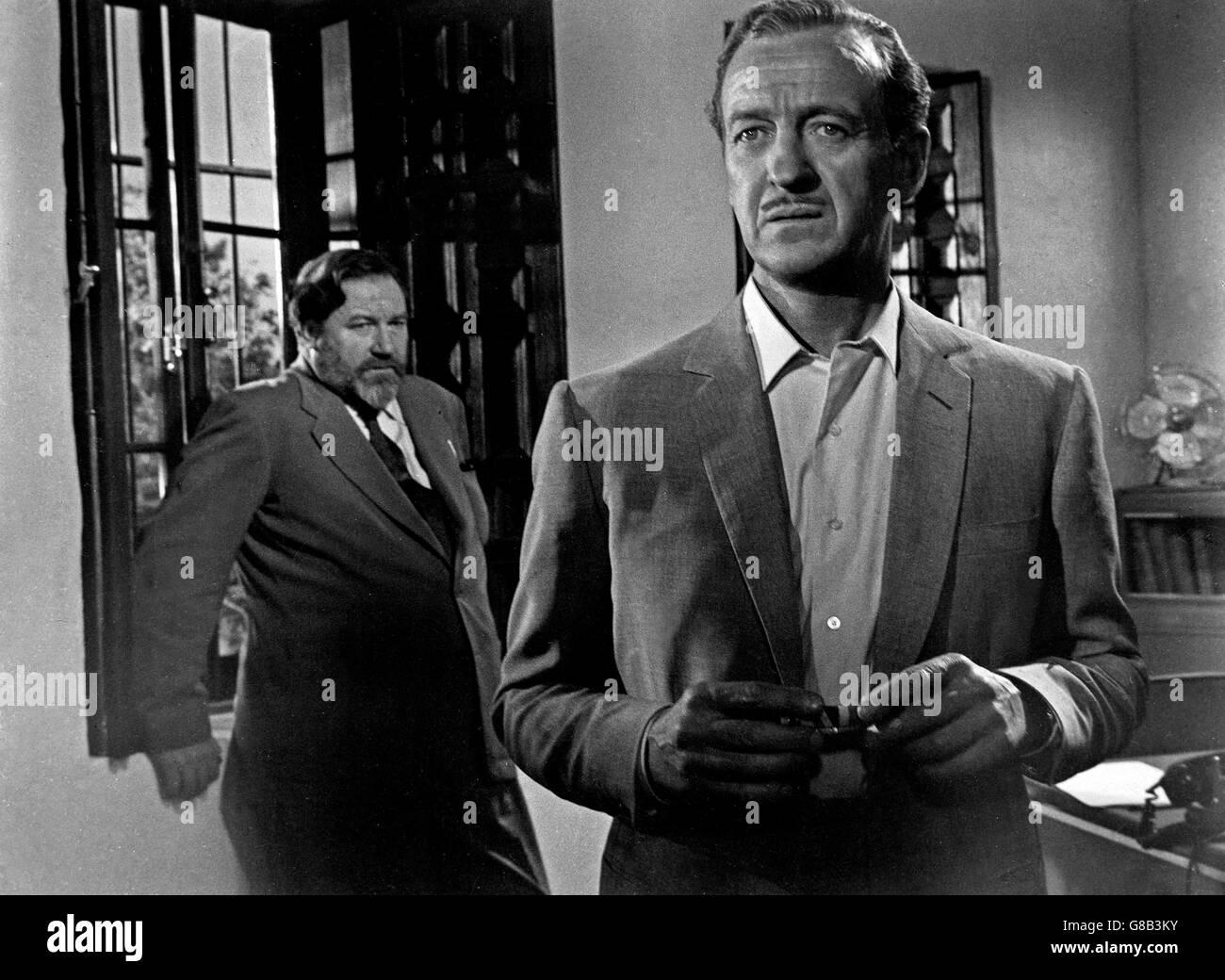 Guns Of Darkness, aka: Flucht aus dem Dunkel, Großbritannien 1962, Regie: Anthony Asquith, Darsteller: James - Stock Image