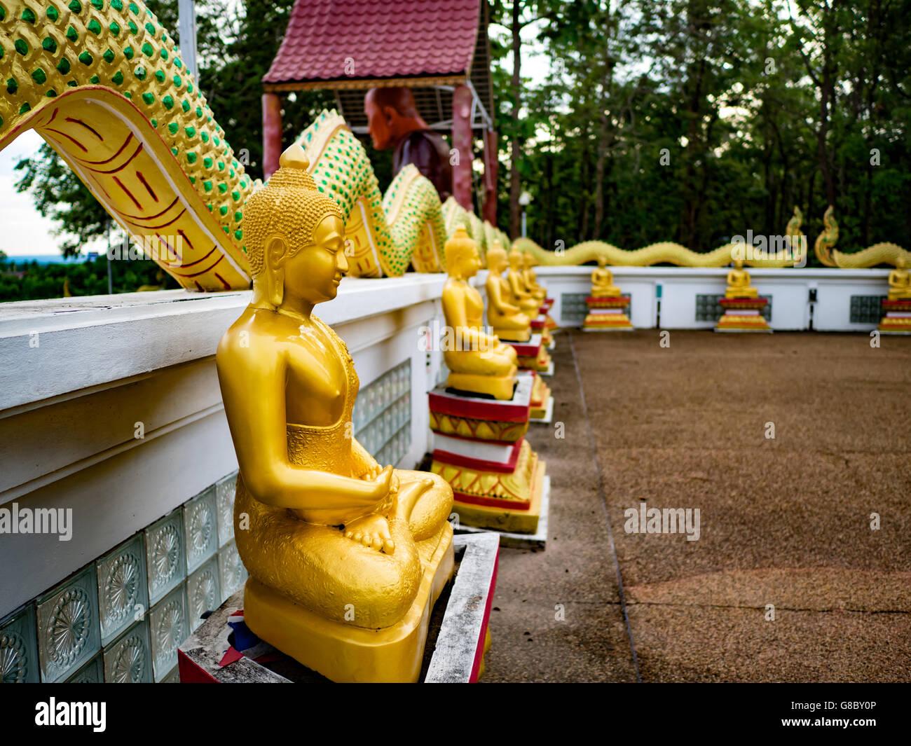 Buddhist,temple,monasteries,Buddhism,sanctuary,Cathedrals,thai,phayanak - Stock Image