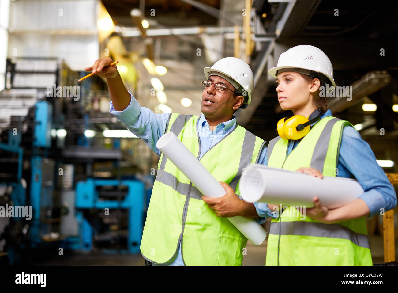 Consulting assistant - Stock Image