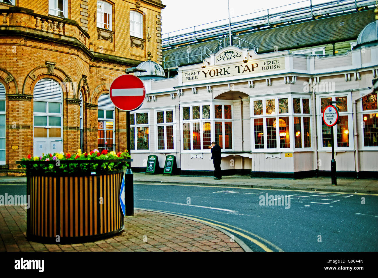 York Tap public house, York - Stock Image