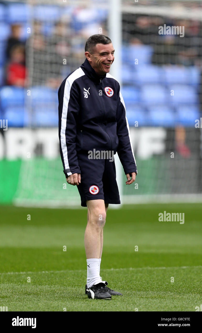 Soccer - Sky Bet Championship - Reading v Charlton Athletic - Madejski Stadium - Stock Image